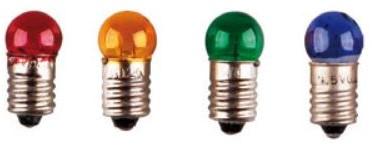 Lampje E-10 3.5V-0.2A geel 10st