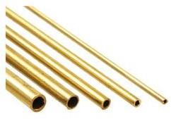 Messing buisje 500mm 3mm - 2.1mm