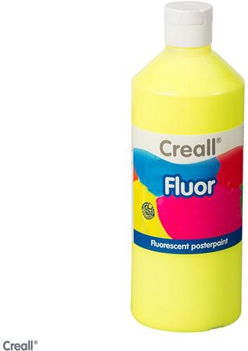 Creall-fluorverf 500ml 001 neon geel
