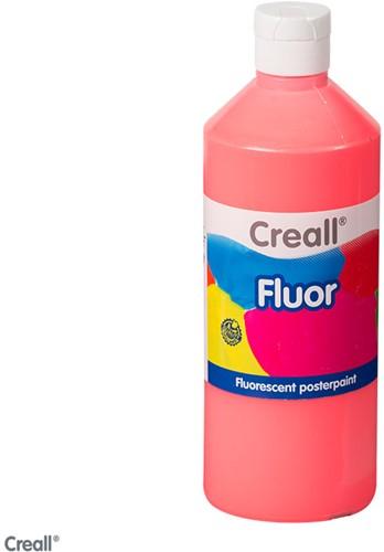 Creall-fluorverf 500ml 004 neon rood
