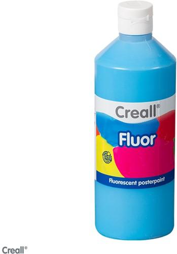 Creall-fluorverf 500ml 007 neon blauw