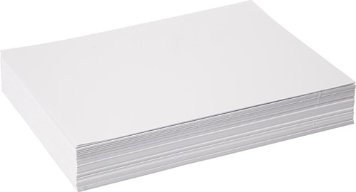 AANBIEDING  Wit tekenpapier 120gr  Offset 25x32,5cm 500v