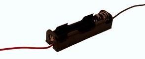 Batterijhouder 1x penlite aansluitdraad