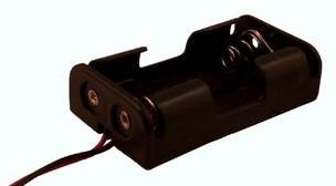 Batterijhouder 2 x penlite aansluitdraad