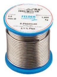 Soldeerdraad 3mm spoel 1kg met harskern