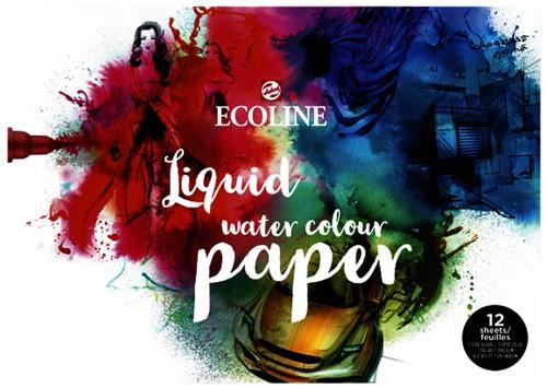 Tekenpapier Talens Ecoline A3 wit