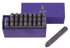 Slagletters set hoogte 6mm