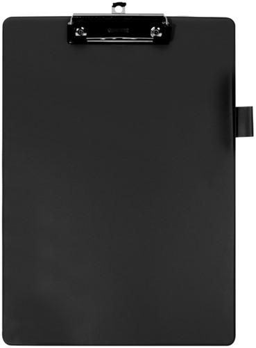 Klembord Quantore A4 zwart met 100mm klem + penlus