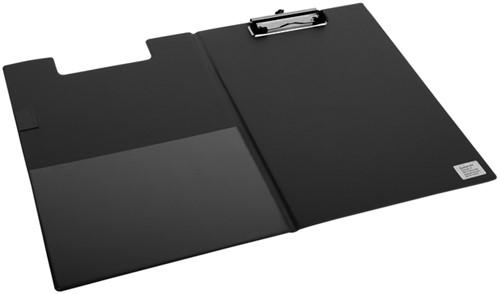 Klembordmap Quantore A4 zwart met 100mm klem + penlus