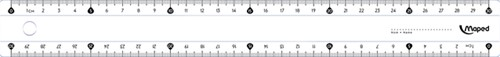 Liniaal Maped classic 30cm