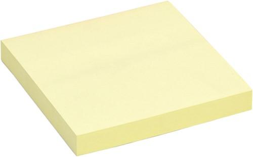 Memoblok Quantore 76x76mm geel