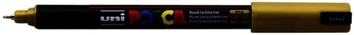 Verfstift Posca PC1MR EF goud