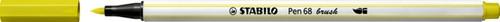 Brushstift STABILO Pen 568/024 fluorescerend geel