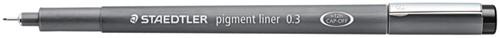 Fineliner Staedtler Pigment 308 zwart 0.3mm