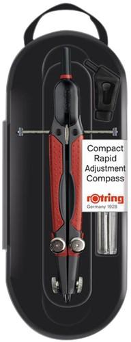 Passer rOtring 676580 Compact inzetpasser tot Ø36cm