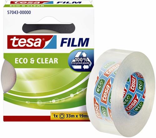 Plakband Tesa film Eco 19mmx33m