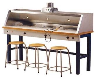 Soldeertafel De Beuk ES-200 (3 werkplekken)
