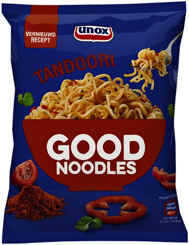 Unox Good Noodles tandoori 11 zakjes