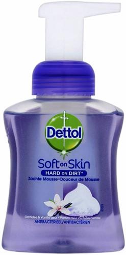 Desinfecterende zeep Dettol Orchide foam 250ml