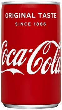 Frisdrank Coca Cola Regular blikje 0.15l