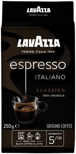 Koffie Lavazza gemalen Caffè Espresso 250gr