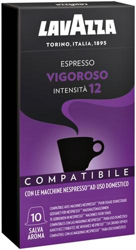 Koffiecups Lavazza Espresso Vigoroso 10 stuks