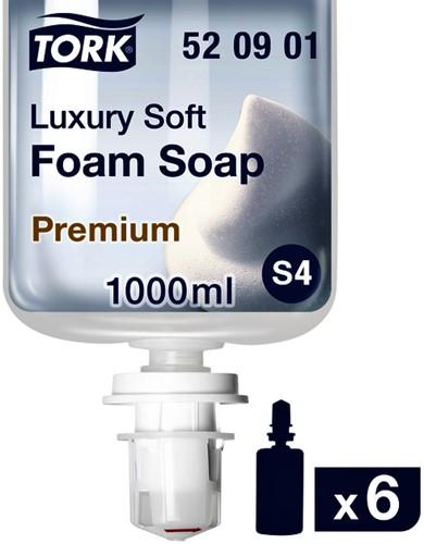 Handzeep Tork S4 520901 luxury soft, geparfumeerd 1000ml