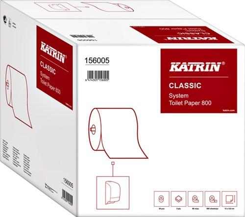 Toiletpapier Katrin 156005 doprol System 800 2laags 36rollen