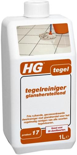 Vloerreiniger HG voor tegelvloeren glans 1l