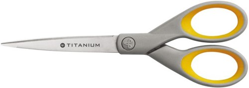 Schaar Westcott Titanium 180mm met softgrip