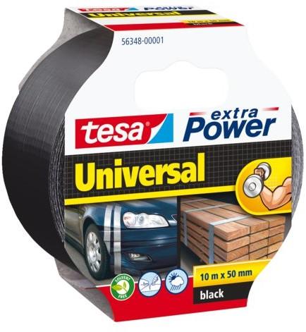 Plakband Tesa 50mmx10m extra Power zwart