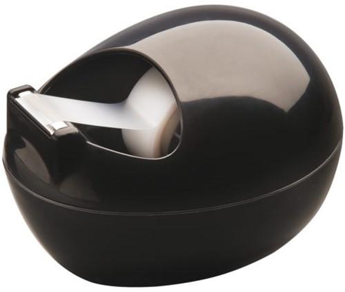 Plakbandhouder Scotch C36 Pebble zwart + 1rol magic tape 19mmx7.5m