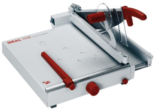 Ideal papiersnijmachine  1038 (bordschaar)