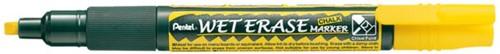 Viltstift Pentel SMW26 krijtmarker geel 1.5-4mm