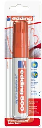 Viltstift edding 800 schuin rood 4-12mm blister
