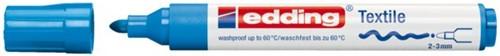 Viltstift edding 4500 textiel rond lichtblauw 2-3mm