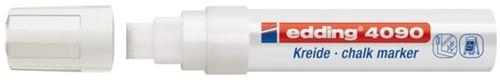 Viltstift edding 4090 window schuin wit 4-15mm