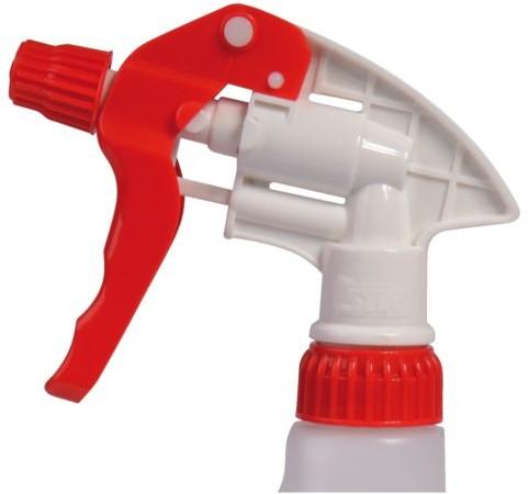 Sproeitrigger PrimeSource rood voor sanitair
