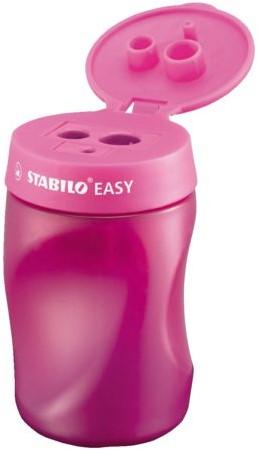 Puntenslijper STABILO Easy 4502 3 in 1 rechtshandig roze