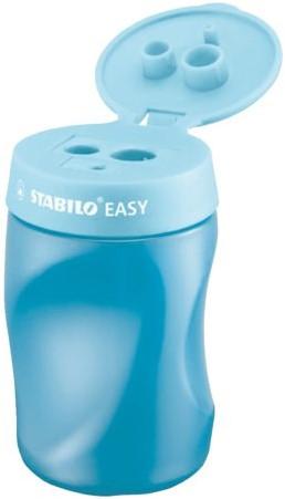 Puntenslijper STABILO Easy 4502 3 in 1 rechtshandig blauw