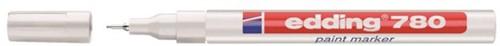 Viltstift edding 780 lakmarker rond wit 0.8mm