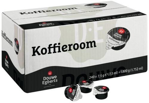 Koffiemelk Douwe Egberts halfroom 7,5 gram 240 cups