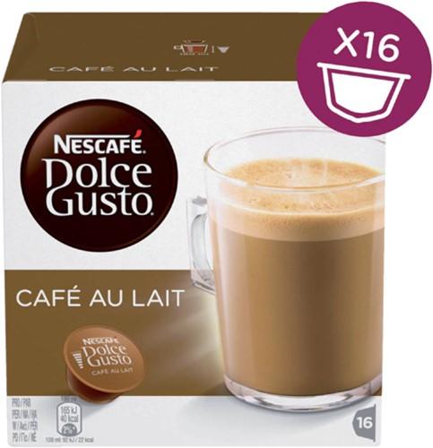 Koffie Dolce Gusto Cafe au Lait 16 cups