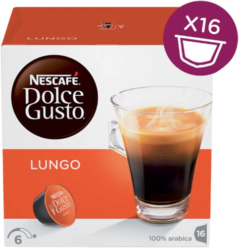 Koffie Dolce Gusto Lungo 16 cups