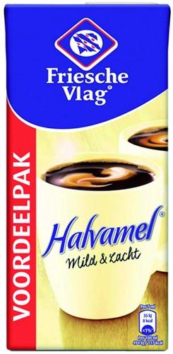 Koffiemelk Friesche vlag halvamel 930ml