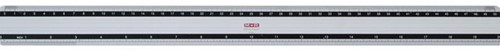 Liniaal M+R 1850 500mm aluminium