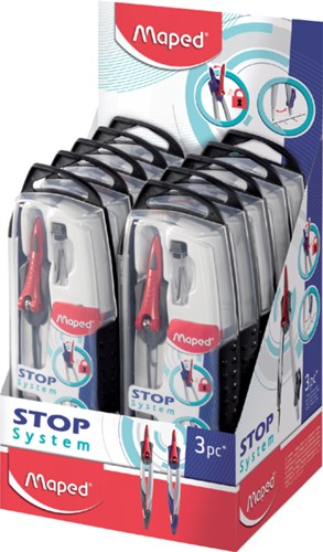 Passer Maped Stop system 3delig assorti