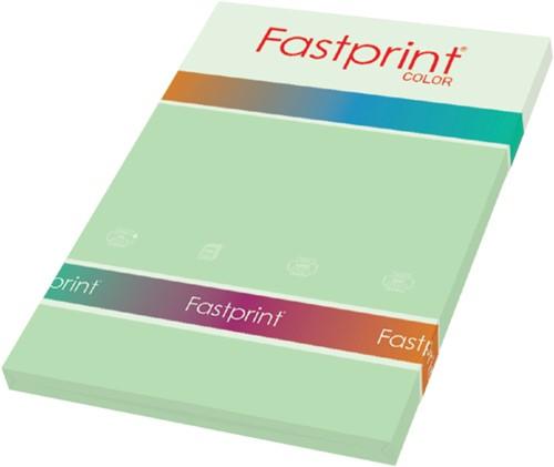 Kopieerpapier Fastprint A4 120gr appelgroen 100vel