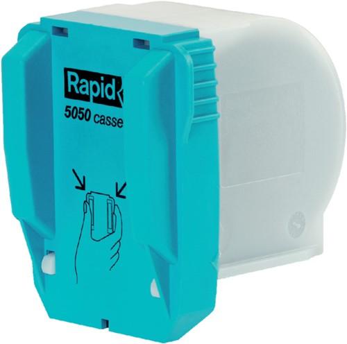 Nieten Rapid cassette voor 5050E 5000 stuks