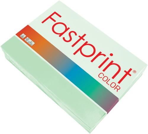Kopieerpapier Fastprint A4 160gr appelgroen 250vel